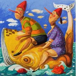 Pino Procopio –  Due burattini e una balena
