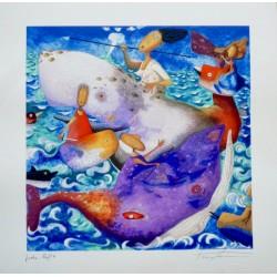 Pino Procopio – I delfini le balene e il ghiozzo