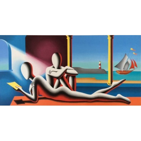 Mark Kostabi - One moment in time