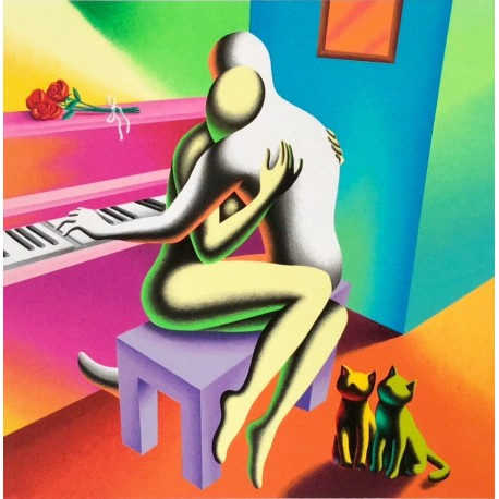 Mark Kostabi - The right notes