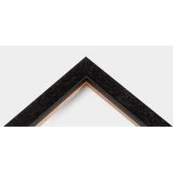 Cornice Black Basic Wood