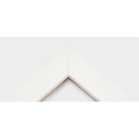 Cornice White Basic Wood