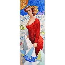 Giampaolo Talani – Le barche del viaggio: una donna