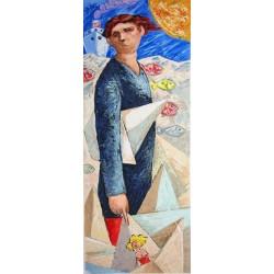 Giampaolo Talani – Le barche del viaggio: un uomo