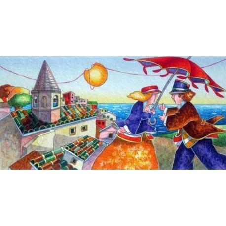 Francesco Nesi - Tra i tetti