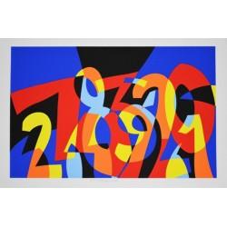 Ugo Nespolo - I Numeri si Amano