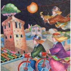 Francesco Nesi - La torre baciata dalla luna