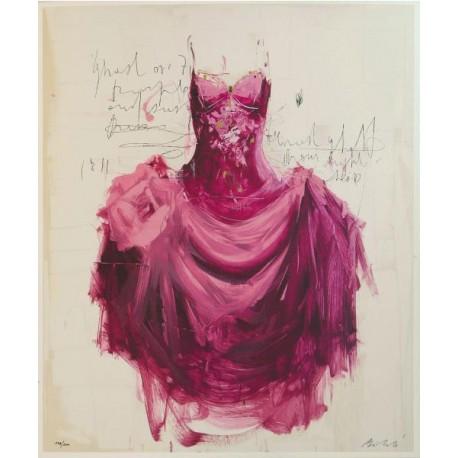 Luca Bellandi -  Purple Dress n.58
