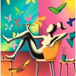 Mark Kostabi - Flight of fantasy