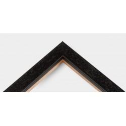 Cornice Black Basic Wood