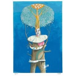 Silvano Braido - La donna albero