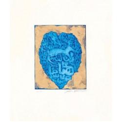 Fathi Hassan - Contenitore prezioso blu 1