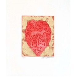 Fathi Hassan - Contenitore prezioso rosso 1