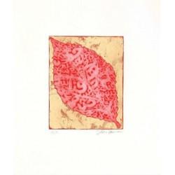 Fathi Hassan - Contenitore prezioso rosso 2