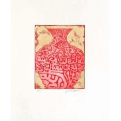 Fathi Hassan - Contenitore prezioso rosso 3