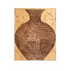 Fathi Hassan - Contenitore della nubia marrone