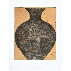 Fathi Hassan - Contenitore della nubia nero