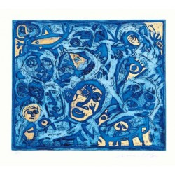Carlo Moschella - Tribale blu